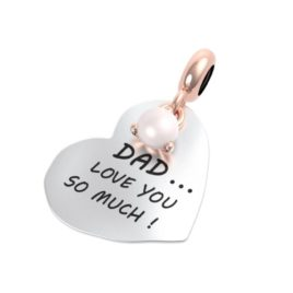 Charm: dad i love you so much